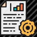 color, diagram, document, engineer, engineering, gear, wheel icon