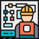 board, color, diagram, engineer, engineering, manufacturing, presentation