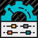 board, circuit, color, engineer, engineering, gear, motherboard