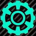 cogwheel, engineer, gear, machine, part icon