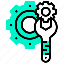 fix, maintenance, operate, repair, service icon