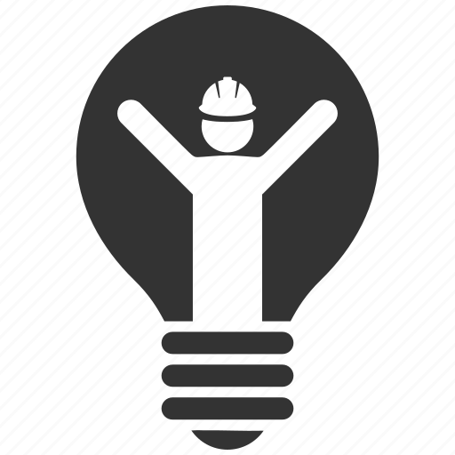bulb, electric, electrician, electricity, energy, idea, power icon