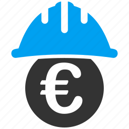 caution, danger, euro, industry, protection, safety, security icon