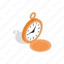 clock, design, illustration, isometric, modern, time, watch icon