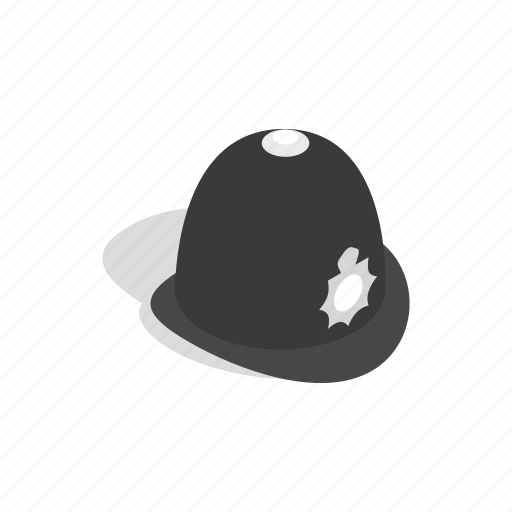 clothes, country, english, hat, isometric, police, traditional icon