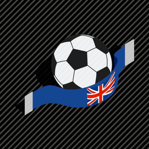 english, football, game, illustration, isometric, play, sport icon