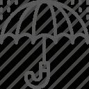 england, handle, rain, umbrella, weather icon