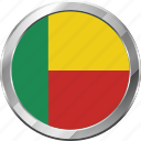 benin, ensign, flag, nation icon