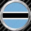 botswana, ensign, flag, nation icon