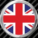 ensign, flag, nation, united kingdom icon