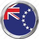 cook islands, ensign, flag, nation icon