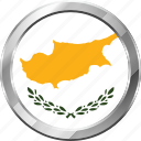 cyprus, ensign, flag, nation icon
