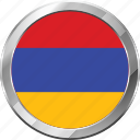 armenia, ensign, flag, nation icon