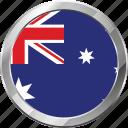 australia, ensign, flag, nation icon