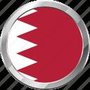 bahrain, ensign, flag, nation icon