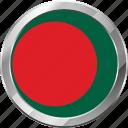 bangladesh, ensign, flag, nation icon