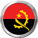 angola, ensign, flag, nation icon