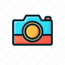 camera, electronic, entertaiment, filled, photo, photograph, video icon