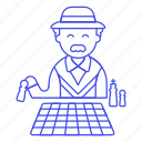 activity, board, chess, elder, entertainment, game, man, playing, senior, strategy