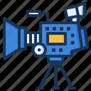 camera, cinema, movie, video