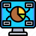 computer, device, hardware, laptop, monitor, screen, technology icon