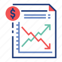 chart, financial, fluctuate, fluctuation, growth, market, stock icon