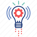 brainstorm, creative, idea, innovation, innovative, solution, think icon