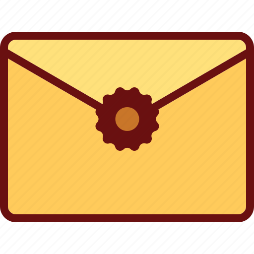 email, envelope, letter, mail, stamp icon