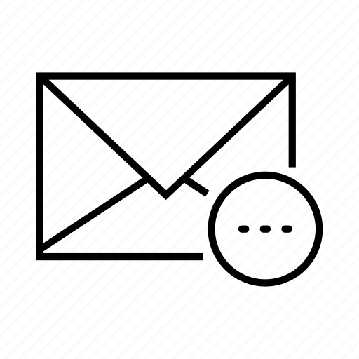 chat, dots, email, envelope, message icon