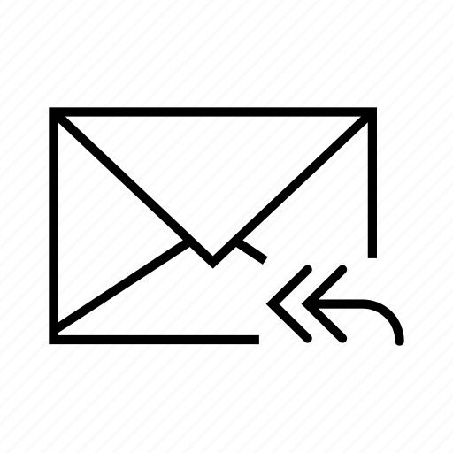 arrow, e-mail, email, envelope, forward icon
