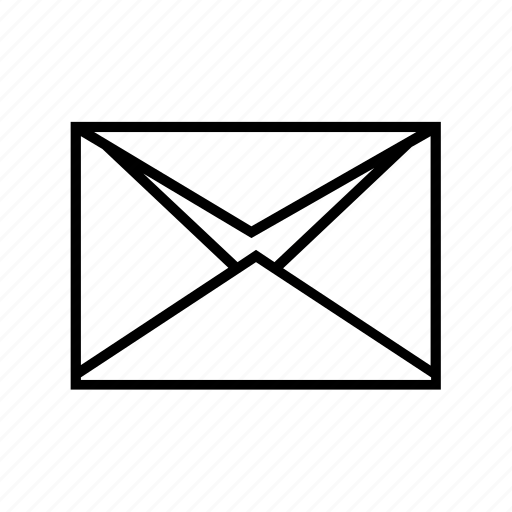 e-mail, email, envelope, half open, open icon