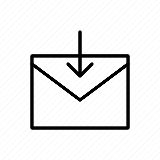 download, email, envelope, envelopes, letter, mail, message icon