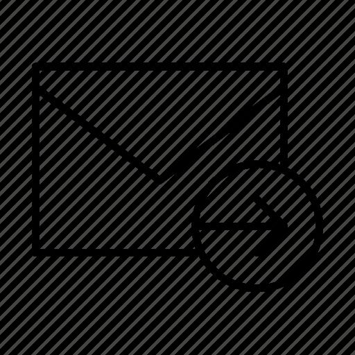 email, envelope, envelopes, forward, letter, mail, message icon