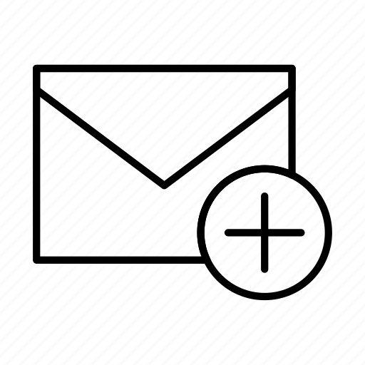 add, email, envelope, envelopes, letter, mail, message icon