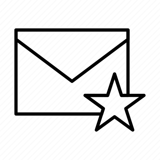 email, envelope, envelopes, favourite, letter, mail, message icon