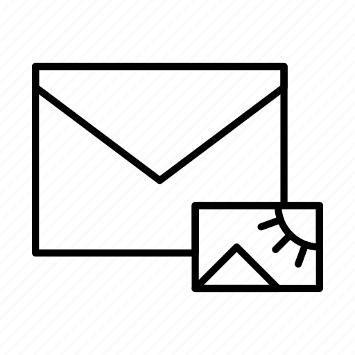 email, envelope, envelopes, letter, mail, message, picture icon