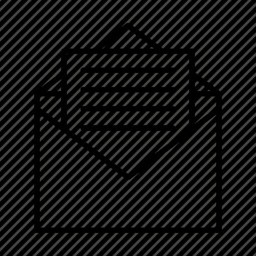 email, envelope, envelopes, letter, mail, message icon