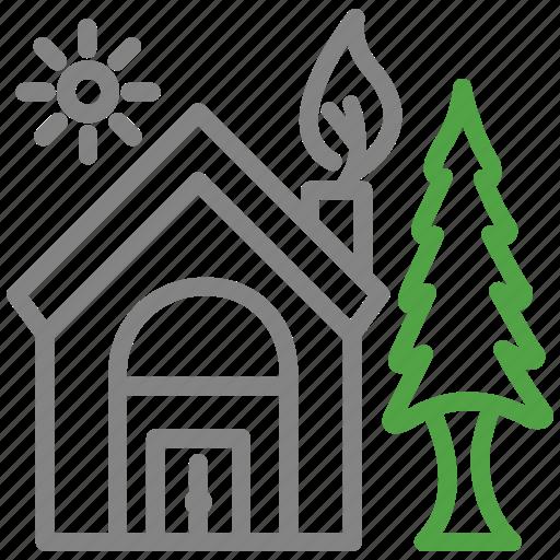eco, ecology, environment, green, green house, house icon