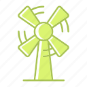 ecology, energy, environment, power, windmill icon