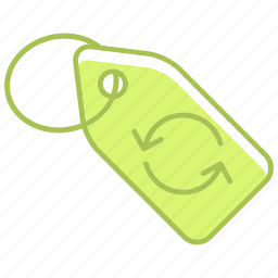 clothes, ecology, energy, envirenment, environment, reuse, tag icon