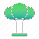 ecology, environment, go green, tree icon