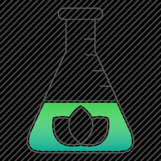 ecology, go green, test, tube icon
