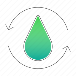 filtration, plant, treatment, wastewater, water icon