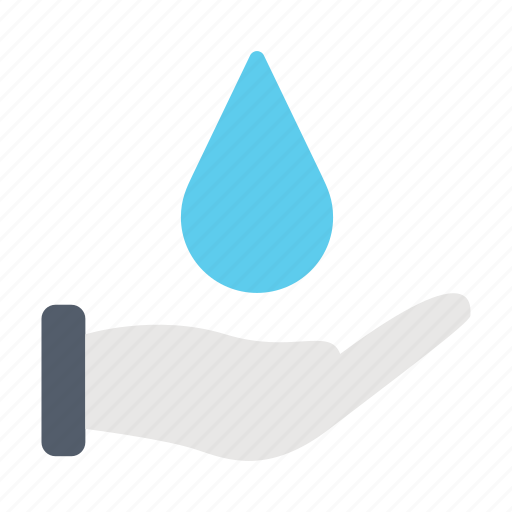 Ecology, environment, guardar, hand, save, water icon - Download on Iconfinder