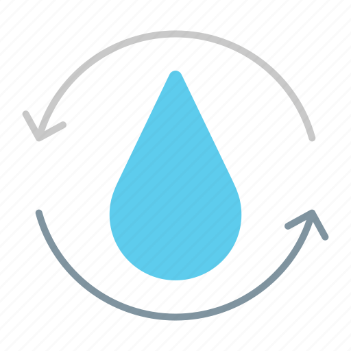 filtration, plant, treatment, wastewater, water, watering icon