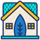 eco, ecology, energy, green, house, plant icon