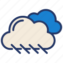cloud, cloudy, forecast, sky, weather