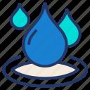 drop, fuel, oil, service, water icon