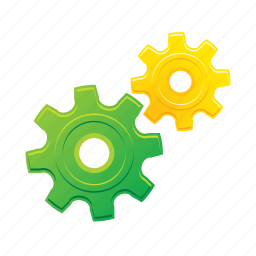 configuration, gear, system, tool icon