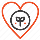 ecology, environment, favorite, heart, like icon